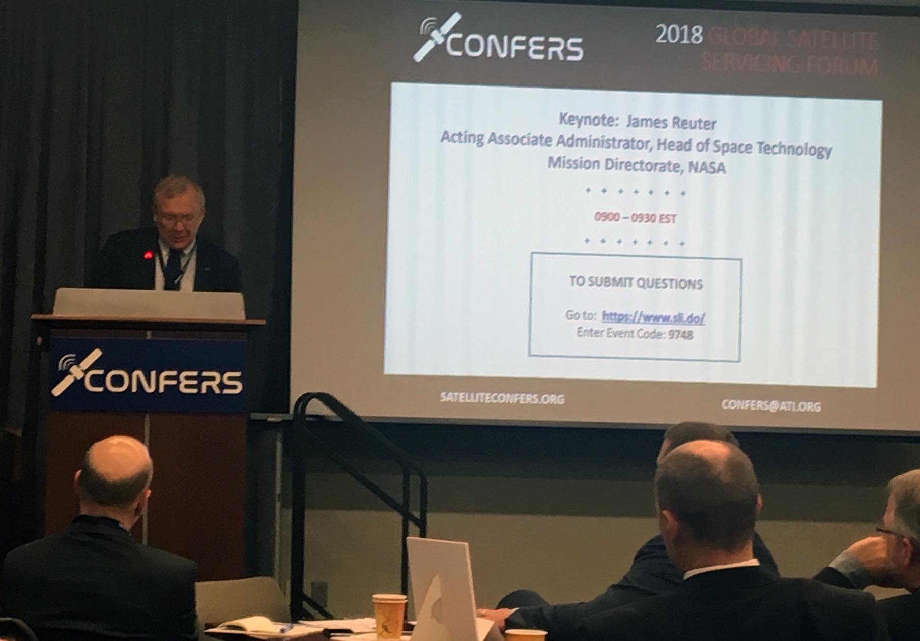 picture of speaker, James Reuter