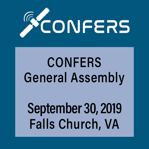 Confers General Assembly September 30, 2019 Falls Church, VA